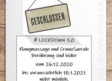 Lockdown 3.0 – Verlängerung bis 8.2.2021